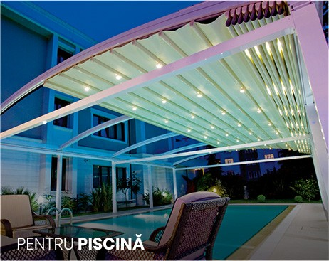 pergole piscina publica, resort, centru de relaxare