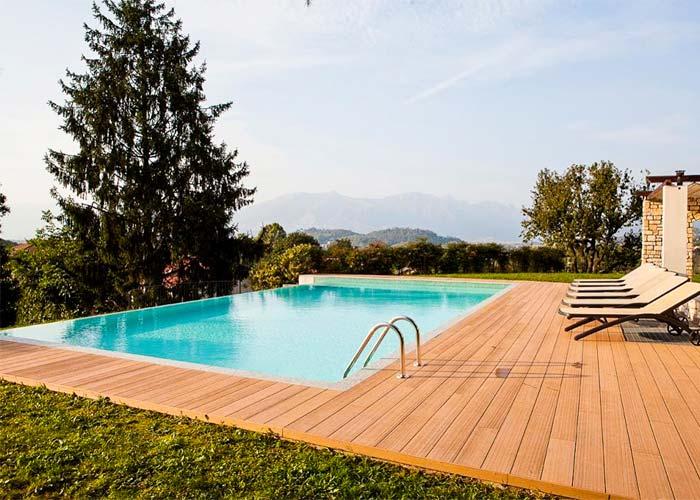 Deck terase piscina