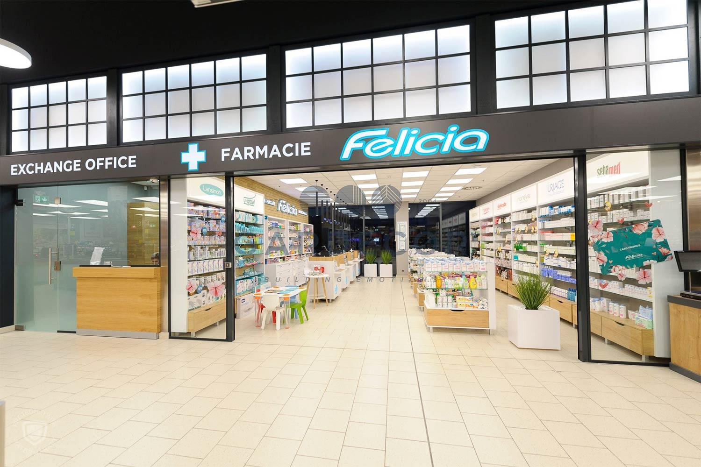 Delimitari spatiu comercial/farmacie