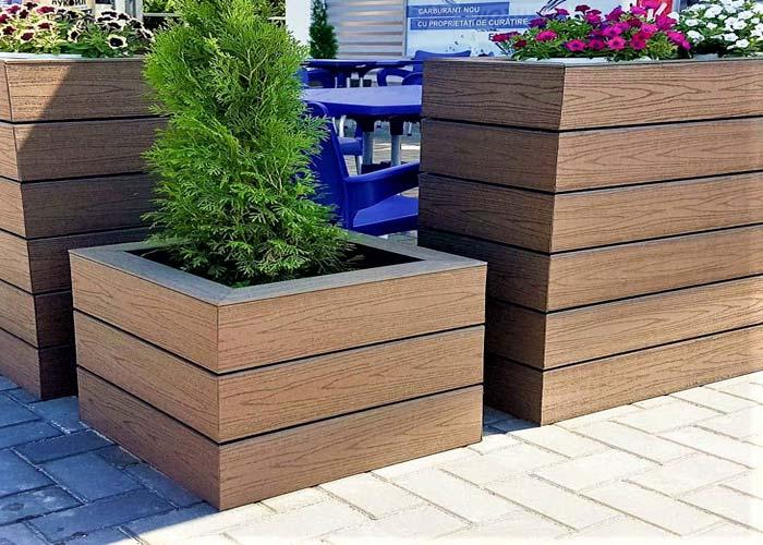 Deck terase jardiniere